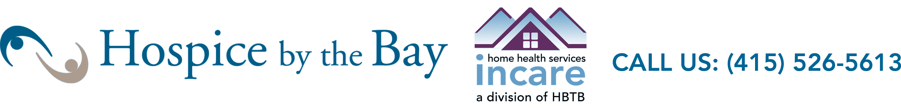 Hospice by the Bay Logo. Phone: 415-526-5613